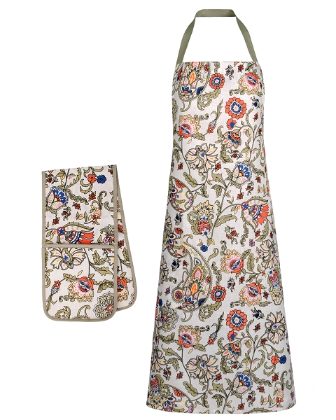 Apron, Gloves, Pot Holder