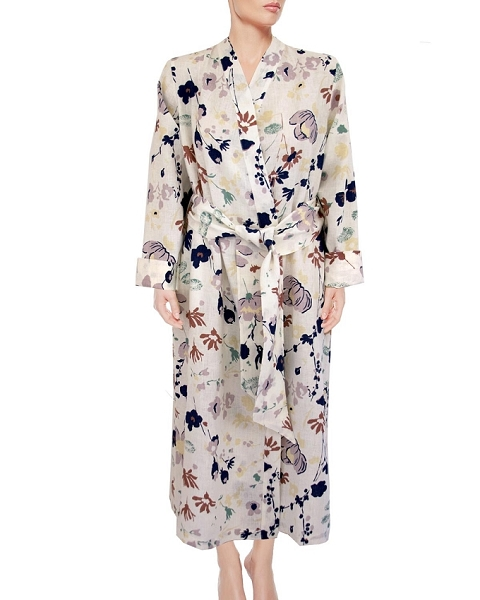 Kimono Lounge Robe, Daniella Collection