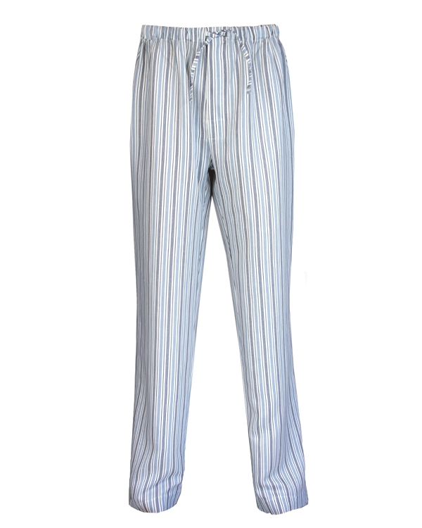 Lounge Sleep Pants Sateen Linen Cotton  Vincenzi Collection