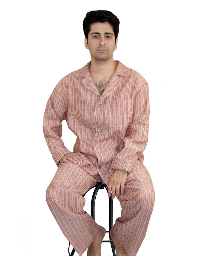 Pajama Set Brandywine Striped Stanford Collection